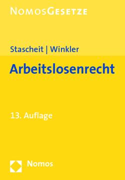 Arbeitslosenrecht von Stascheit,  Ulrich, Winkler,  Ute