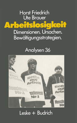 Arbeitslosigkeit — Dimensionen, Ursachen und Bewältigungsstrategien von Brauer,  Ute, Friedrich,  Horst