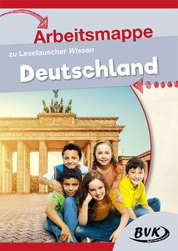 Arbeitsmappe zu Leselauscher Wissen Deutschland von Buch Verlag Kempen,  BVK