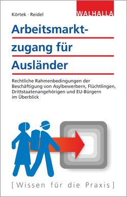 Arbeitsmarktzugang für Ausländer von Körtek,  Yasemin, Reidel,  Alexandra-Isabel
