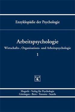 Arbeitspsychologie von Kleinbeck,  Uwe, Schmidt,  Klaus-Helmut