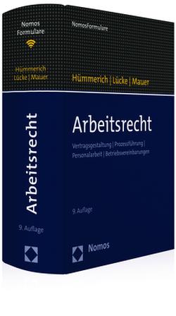 Arbeitsrecht von Hümmerich +,  Klaus, Lücke,  Oliver, Mauer,  Reinhold