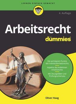 Arbeitsrecht für Dummies von Haag,  Oliver