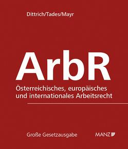 Arbeitsrecht inkl. 182. Erg.-Lfg. von Mayr,  Klaus