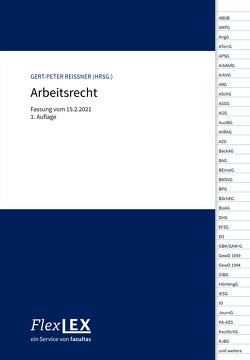 Arbeitsrecht von Reissner,  Gert-Peter