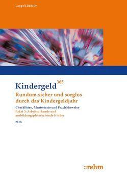 Arbeitsuchende und ausbildungsplatzsuchende Kinder 2018 von Lange,  Klaus, Lüdecke,  Reinhard