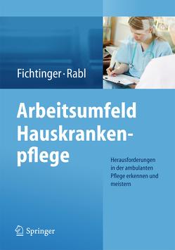 Arbeitsumfeld Hauskrankenpflege von Fichtinger,  Christine, Rabl,  Renate
