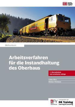 Arbeitsverfahren für die Instandhaltung des Oberbaus von Marx,  Lothar, Moßmann,  Dietmar