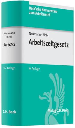 Arbeitszeitgesetz von Biebl,  Josef, Denecke,  J., Neumann,  Dirk