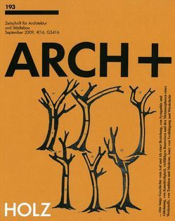 ARCH+ 193 – Holz