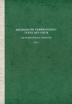 Archaische Texte aus Uruk / Archaische Verwaltungstexte aus Uruk von Boehmer,  Rainer M, Englund,  Robert K, Nissen,  Hans J