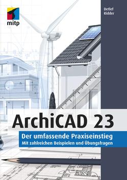 ArchiCAD 23 von Ridder,  Detlef