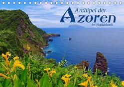 Archipel der Azoren im Nordatlantik (Tischkalender 2019 DIN A5 quer) von Thiem-Eberitsch,  Jana