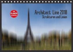 Architect Line 2018 – Strukturen und Linien (Tischkalender 2018 DIN A5 quer) von Tessarolo,  Franco