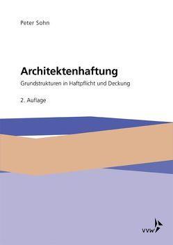 Architektenhaftung von Sohn,  Peter