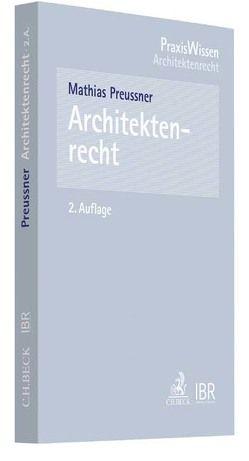 Architektenrecht von Preussner,  Mathias