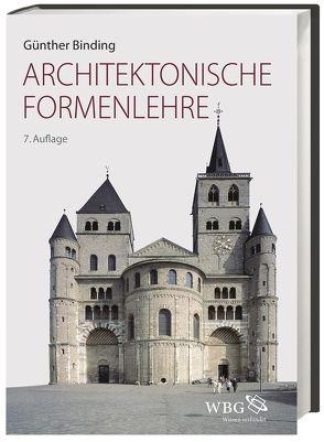 Architektonische Formenlehre von Binding, Günther