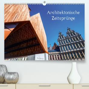 Architektonische Zeitsprünge (Premium, hochwertiger DIN A2 Wandkalender 2021, Kunstdruck in Hochglanz) von Müller,  Christian