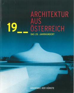 Architektur aus Österreich von Achleitner,  Friedrich, Sarnitz,  August