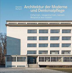 Architektur der Moderne und Denkmalpflege von Burkart,  Daniela