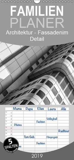 Architektur – Fassaden im Detail 2019 – Familienplaner hoch (Wandkalender 2019 , 21 cm x 45 cm, hoch) von Tessarolo,  Franco