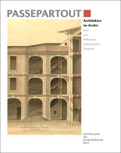 Architektur im Archiv von Burgerbibliothek,  Bern