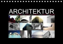 Architektur [Madrid, Paris, Beijing, München, Prag, Lissabon, Hamburg, Frankfurt, Teneriffa, Valencia, Basel, Ronchamp] (Tischkalender 2018 DIN A5 quer) von photography [Daniel Slusarcik],  D.S