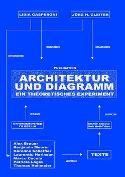Architektur und Diagramm. Ein theoretisches Experiment von Gasperoni,  Lidia, Gleiter,  Jörg H.