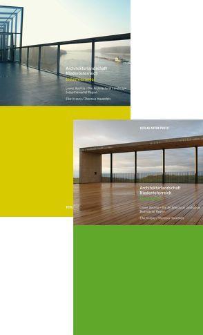 Architekturlandschaft Niederösterreich Kombipaket von Hauenfels,  Dr. Theresia, Krasny,  Elke