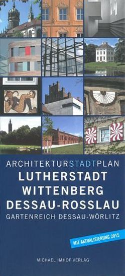 Architekturstadtplan Lutherstadt Wittenberg Dessau-Rosslau