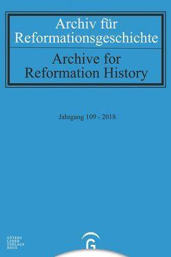 Archiv für Reformationsgeschichte – Aufsatzband