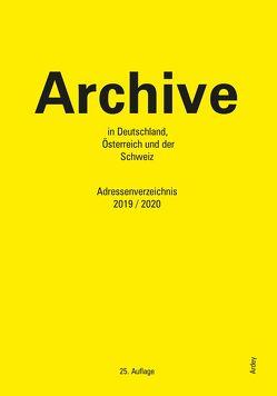 Archive in Deutschland, Österreich und der Schweiz