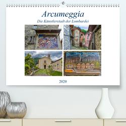 Arcumeggia – Die Künstlerstadt der Lombardei (Premium, hochwertiger DIN A2 Wandkalender 2020, Kunstdruck in Hochglanz) von Di Chito,  Ursula