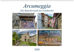 Arcumeggia – Die Künstlerstadt der Lombardei (Wandkalender 2020 DIN A2 quer) von Di Chito,  Ursula