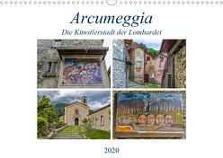 Arcumeggia – Die Künstlerstadt der Lombardei (Wandkalender 2020 DIN A3 quer) von Di Chito,  Ursula