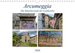 Arcumeggia – Die Künstlerstadt der Lombardei (Wandkalender 2020 DIN A4 quer) von Di Chito,  Ursula