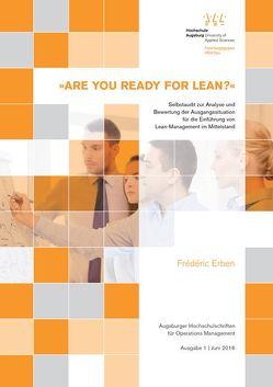 »ARE YOU READY FOR LEAN?« von Erben,  Frédéric, Krupp,  Michael, Richard,  Peter, Waibel,  Florian