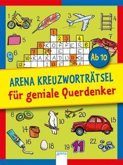 Arena Kreuzworträtsel für geniale Querdenker von Haller,  Stefan