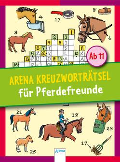 Arena Kreuzworträtsel für Pferdefreunde von Haller,  Stefan