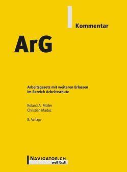 ArG Kommentar von Maduz,  Christian, Müller,  Roland A.
