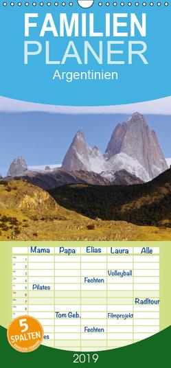 Argentinien Christian Heeb – Familienplaner hoch (Wandkalender 2019 , 21 cm x 45 cm, hoch) von Heeb,  Christian
