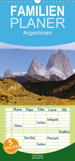 Argentinien Christian Heeb – Familienplaner hoch (Wandkalender 2020 , 21 cm x 45 cm, hoch) von Heeb,  Christian