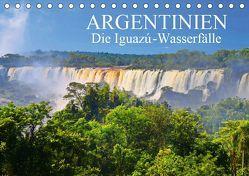 Argentinien. Die Iguazú-Wasserfälle (Tischkalender 2019 DIN A5 quer) von Janusz,  Fryc