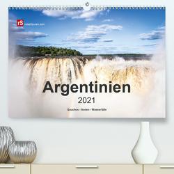 Argentinien, Gauchos – Anden – Wasserfälle (Premium, hochwertiger DIN A2 Wandkalender 2021, Kunstdruck in Hochglanz) von Bergwitz,  Uwe