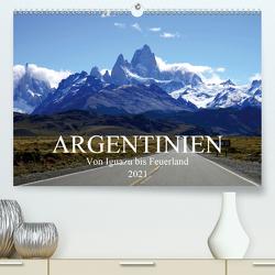 Argentinien – Von Iguazu bis Feuerland (Premium, hochwertiger DIN A2 Wandkalender 2021, Kunstdruck in Hochglanz) von Richter,  Uwe