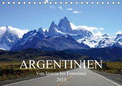 Argentinien – Von Iguazu bis Feuerland (Tischkalender 2019 DIN A5 quer) von Richter,  Uwe