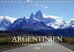Argentinien – Von Iguazu bis Feuerland (Tischkalender 2020 DIN A5 quer) von Richter,  Uwe