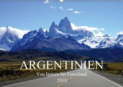 Argentinien – Von Iguazu bis Feuerland (Wandkalender 2019 DIN A2 quer) von Richter,  Uwe