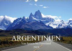 Argentinien – Von Iguazu bis Feuerland (Wandkalender 2019 DIN A3 quer) von Richter,  Uwe