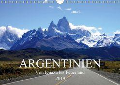Argentinien – Von Iguazu bis Feuerland (Wandkalender 2019 DIN A4 quer) von Richter,  Uwe
